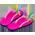 Méduse mythique  RainbowCurlFlipFlops.3718