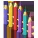 Clôture Crayon